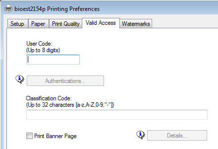 How to enter your user code to print to the ES&T Ricoh Printer